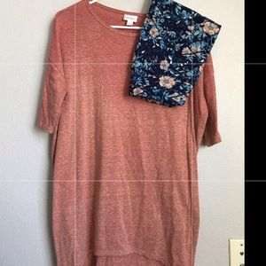 Lularoe Shirt and Leggings